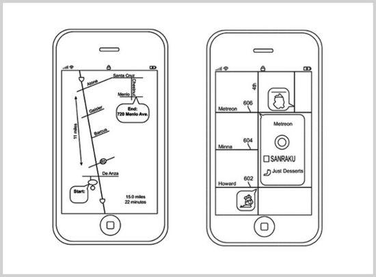 apple u0026 39 s new patent application for  u0026 39 schematic maps u0026 39  app