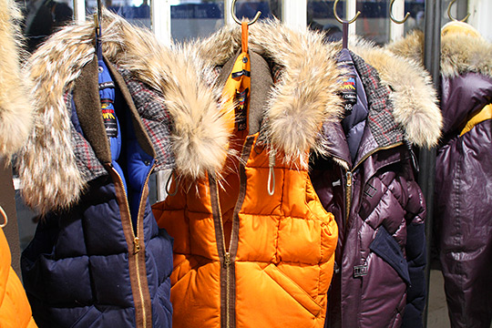 Nigel Cabourn designed the new quiltted jackets for Eddie Bauer's Fall 2011 collection 2