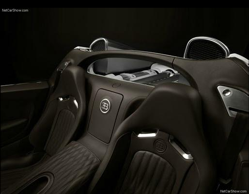 Bugatti Veyron Grand Sport interrior seats