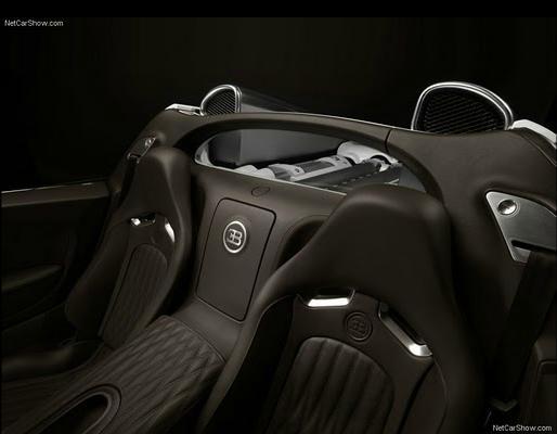 Bugatti Veyron Grand Sport interrior seats