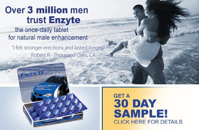 Enzyte print ad