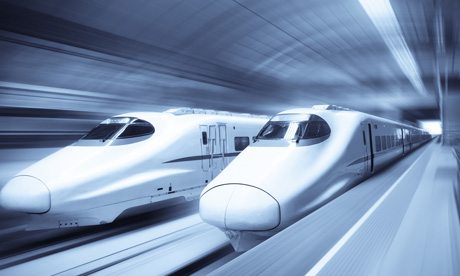 China's bullet trains