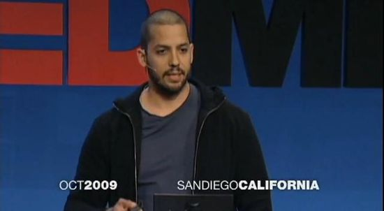 Illusionist David Blaine at TEDMED 2009