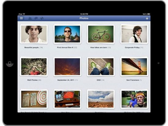 Facebook for iPad, Bigger, better photoes