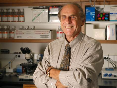 Ralph M. Steinman of Canada, co-winner of the 2011 Nobel Prize for Medicine