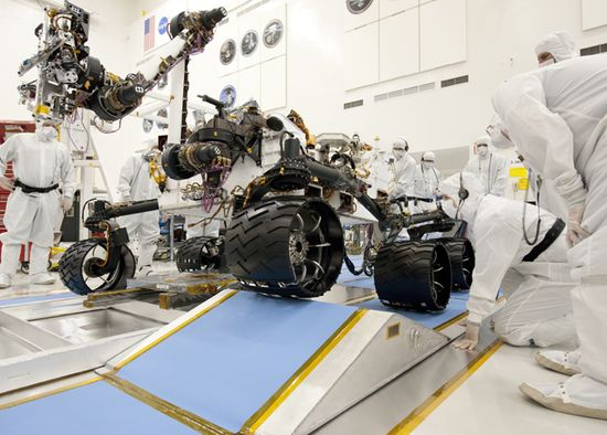 Mars-Rover-Detail