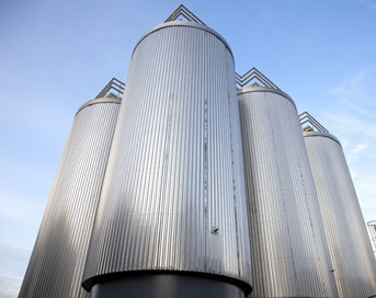 Amyris industrial scale fermenters for the production of Biofene hydrocarbons