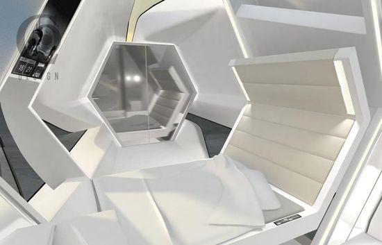 Eco-Friendly Rooftop Hotel Capsule 3