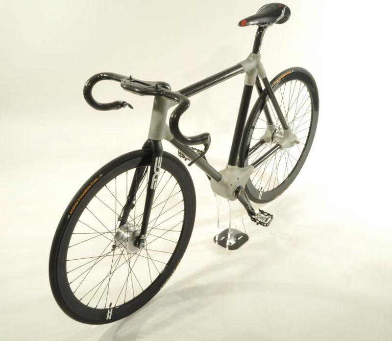 The Alpha Bike angle side view