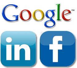 Google-linkedin-facebook