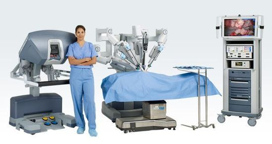 Intuitive Surgical da Vinci robotic surgical system