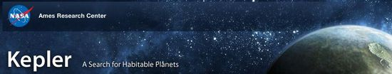 NASA Ames Research Center Kepler Missioni