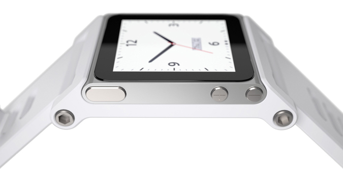 Scott Wilson't Tik-Tok-A Apple Nano watch