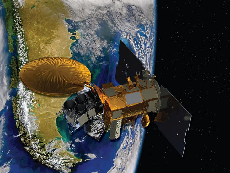 NASA's International Salinity Satellite Aquarius arrives Vandenburg Air Force Base