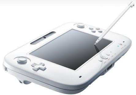 Nintendo Wii U tablet remote control