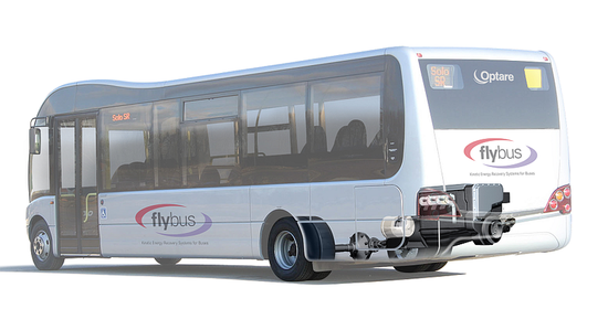 Cutaway of the FLYBUS with Kinergy system. Click to enlarge
