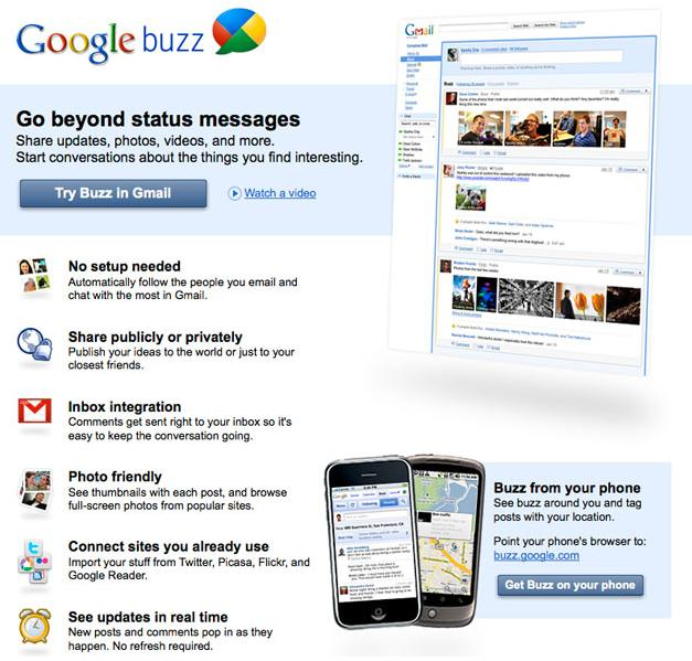 What is Google Buzz