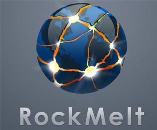 RockMelt logo