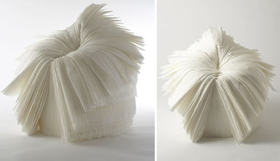 Cabbage chair, by Nendo, 2008