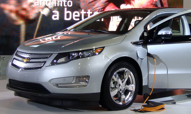 Chevy Volt all-electric car