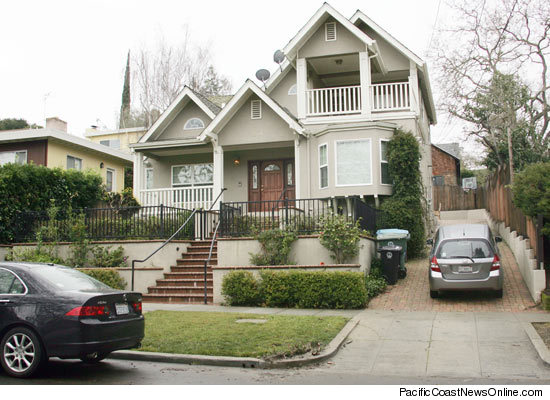 Mark Zuckerberg's new rented house in Palo Alto, CA