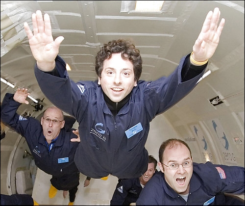 According to the Space Adventures, Sergy Brin put a $5 million deposit a vacation in space aboard a Russian spacecraft. The total trip will cost $35 million dollars.