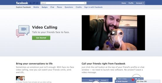 Facebook Video Chat - How it works - 1