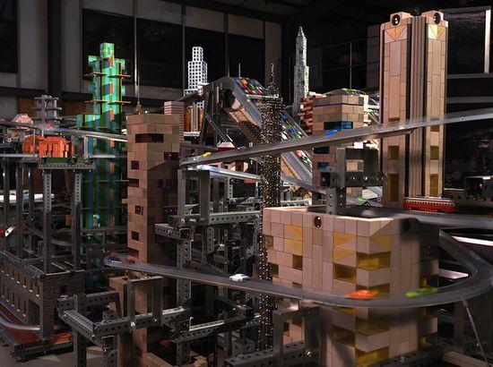 Metropolis II scene