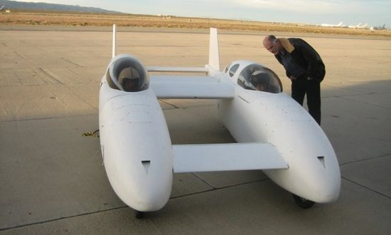 The BiPod, a hybrid electric flying car waiting to be driven