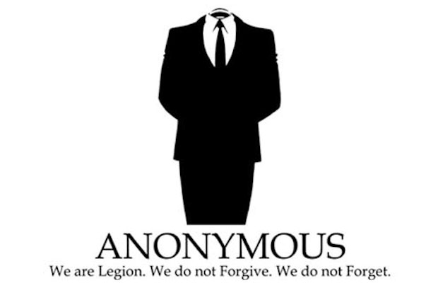 Anonymous - We are Legion. We do not Forgive.  We do not Forget