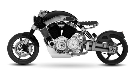 Confederate Motorcycles X132 Hellcat 3