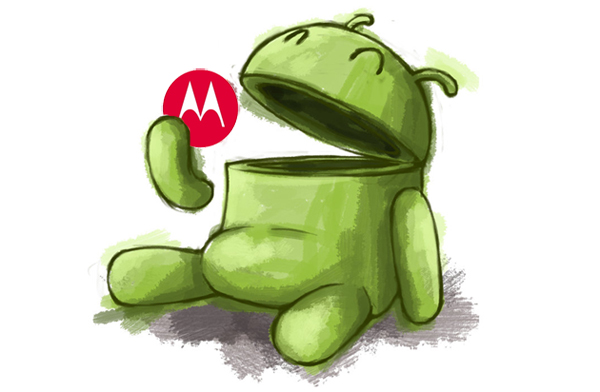 Google acquires Motorola Mobility. The little Android guy grown a tummy gourging itself on Apple, now it helps itself to a morsel of Motorola Mobility