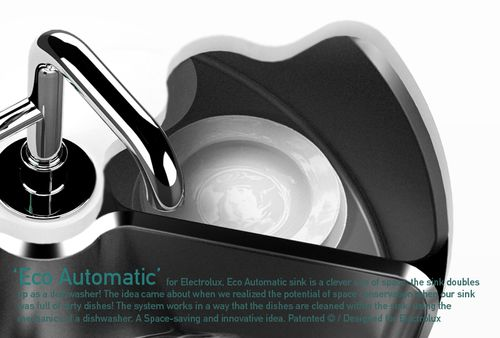 Eco Automatic sink and dishwasher 4