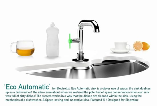 Eco Automatic sink and dishwasher 2
