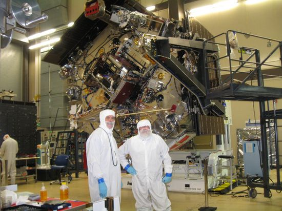 NASA Juno Spacecraft being built 2