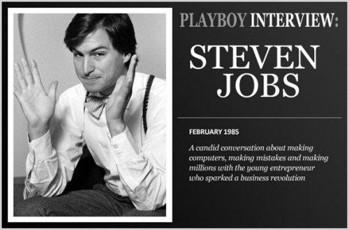 Steve Jobs Playboy Interview in 1985