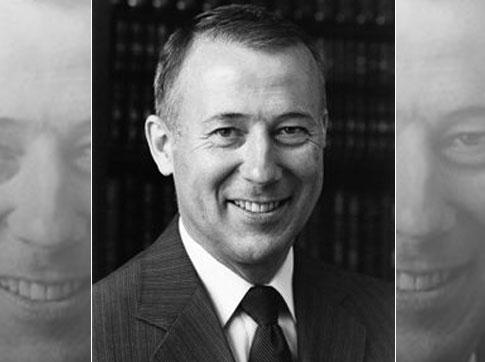 William H. Millard, founder of Computerland, 1985