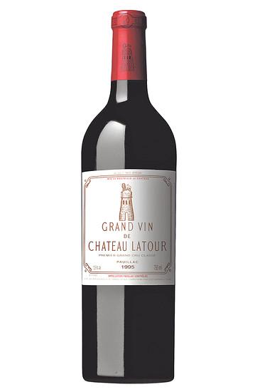 Chateau Latour 1995, Cabernet Sauvignon, $595