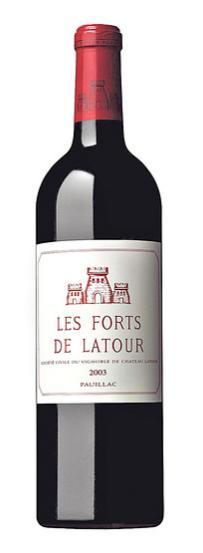 Les Fortes de Latour 2003, $250