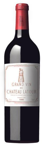 Chateau Latour Cabernet Sauvignon 1996, $695