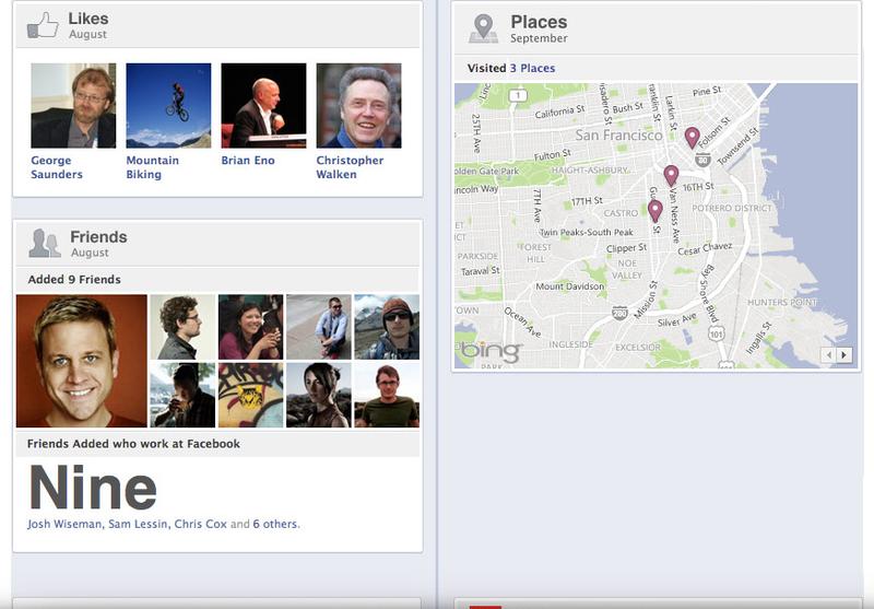 Facebook Timeline Profile C