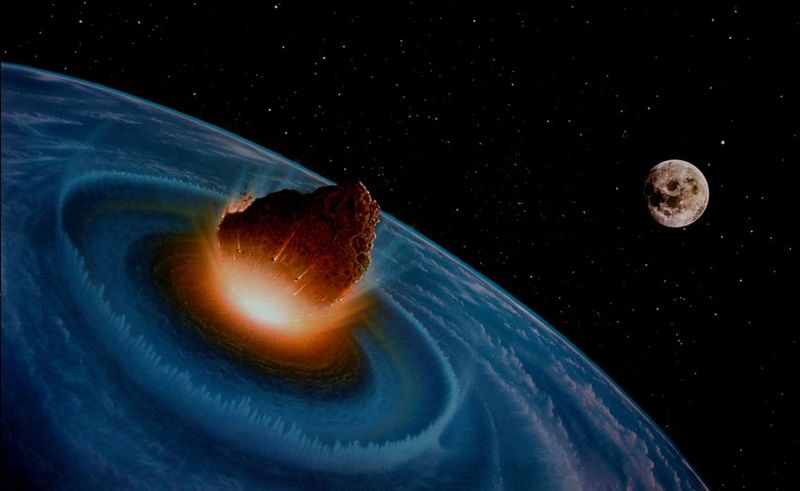 Near-Earth Object collides with Earth
