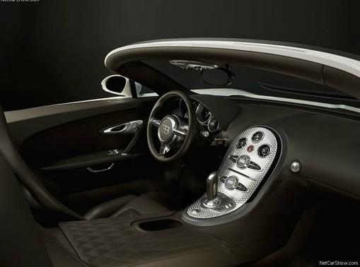 Bugatti Veyron Grand Sport interrior