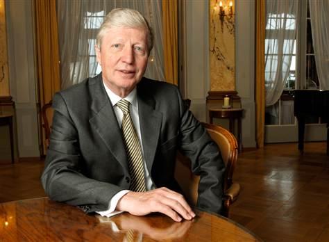 Jules A. Hoffman, co-winner of the 2011 Nobel Prize for Medicine