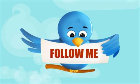 Twitter - Click To Follow Me