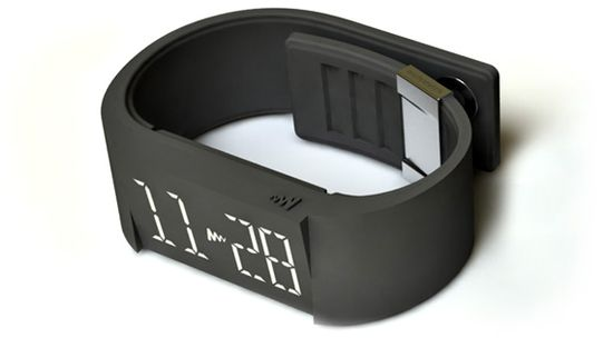 Mutewatch in charcoal black