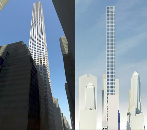 Imagined Vinoly Tower to be located at 432 Park Avenue