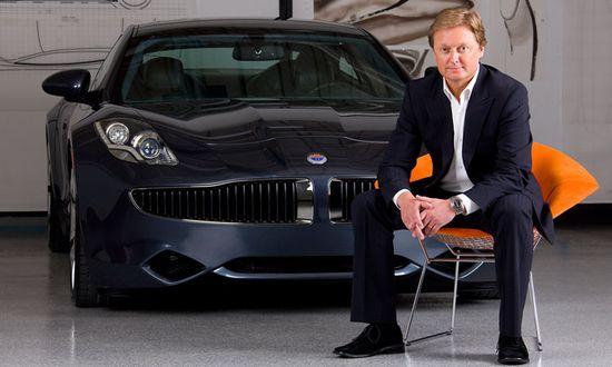 Fisker Automotive CEO Henrik Fisker