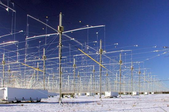 HAARP radio array