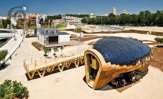 Fablab House, IAAC with MIT Center for Bits and Atoms, Spain, 635 sq. ft.